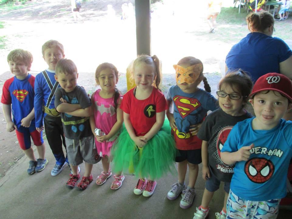 Lillian Schwartz Day camps littlest super heroes.