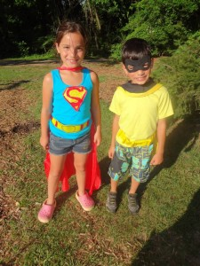Who doesn't want to be a super hero?