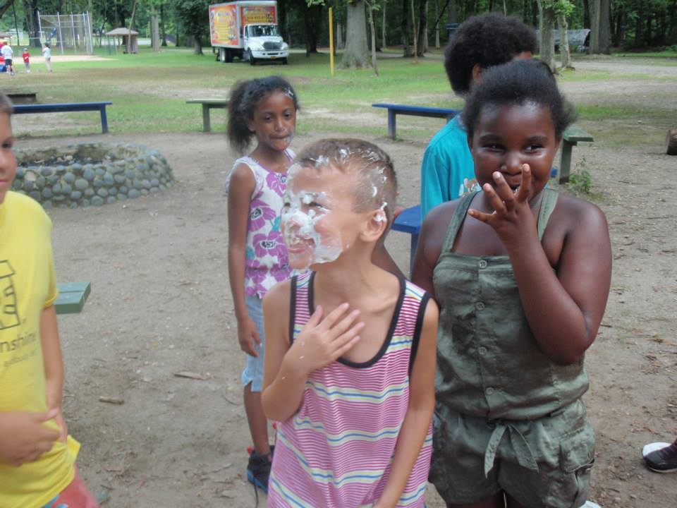 Pie in the face!