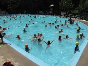 Pool fun with friends!