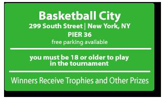 Basketball City   299 South St. Pier 36