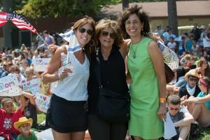 Ferne Gould, Deborah Solomon and Rosemarie Klipper