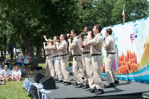 Israel Scouts performing